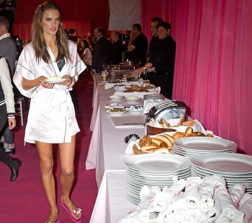 Victorias Secret defilesinin perde arkası