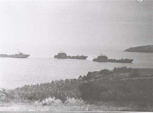 Kıbrıs Barış Harekatının tarihi görüntüleri