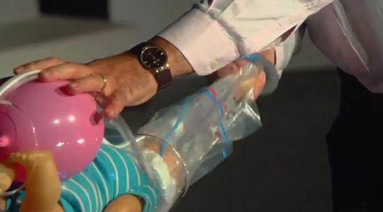 Bebek ölümlerini önleyecek cihaz