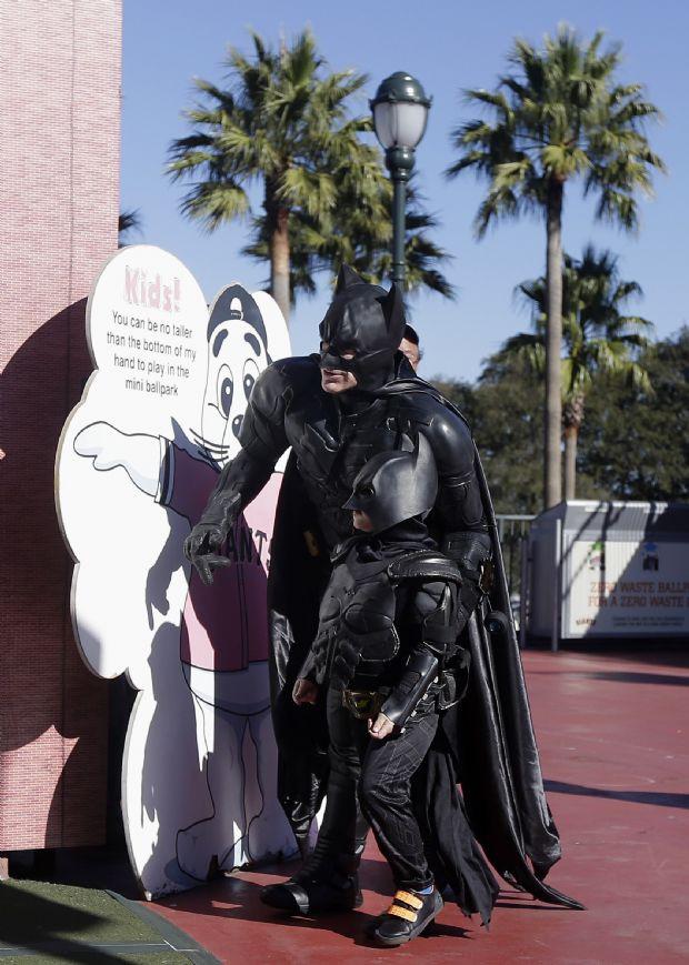 Bir günlüğüne Batman oldu