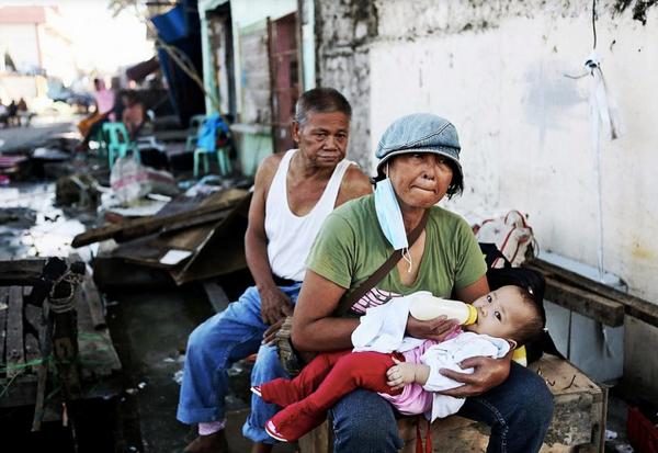 Tayfundan sonra Filipinler