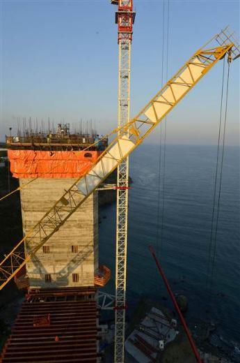 3.Boğaz köprüsünde çalışmalar
