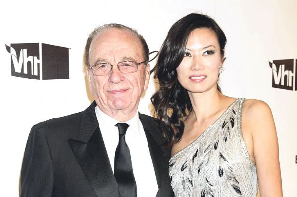 Murdochun evinde karısıyla buluşmuş