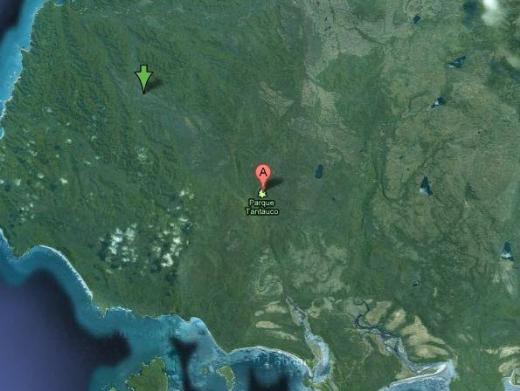 Google Earthten sır gibi saklanan bölgeler