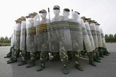 Çin Askerlerine Çin işkencesi