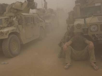 ABD ordusu doğaya yenildi