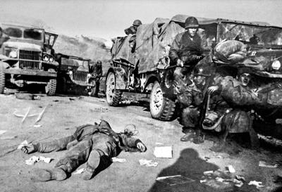 Savaşın ortasında bir kadın fotoğrafçı