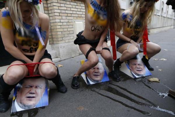 FEMENden ilginç bir eylem daha