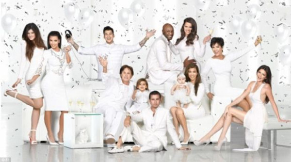 Kardashian ailesi objektif karşısında