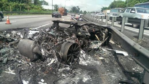 2.22 milyon dolarlık trafik kazası !