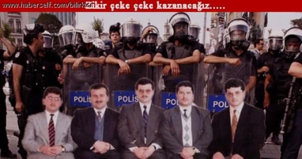 Gezi Parkı eylemlerini cemaat yapsaydı!