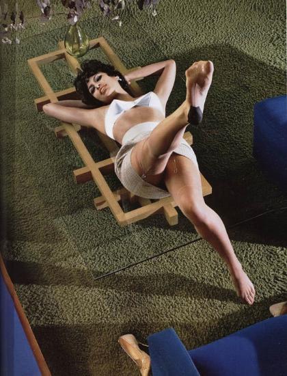 Eva Mendesten kışkırtıcı pozlar