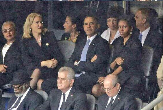 Obama Michellei çıldırttı!