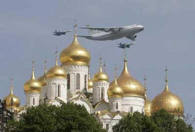 Rusyada tanklı gövde gösterisi !