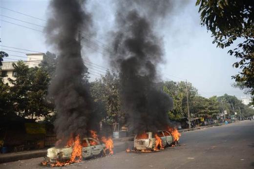 Bangladeşte Molla isyanı