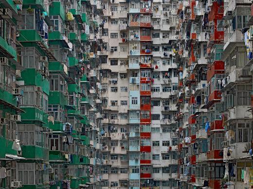 Fotoğrafçı Michael Wolftan Yoğunluğun Mimarisi