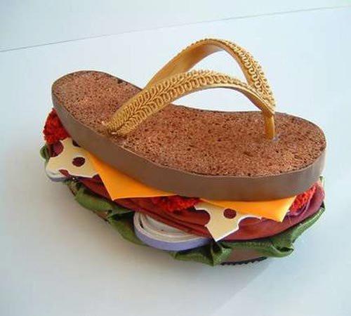 Tuhaf tasarımlı ayakkabılar