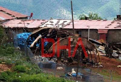 İşte 6 evladımızın şehit düştüğü Aktütün Karakolu