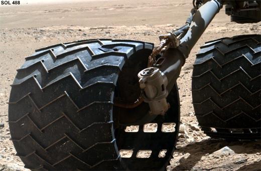 Curiositynin tekerlekleri yorulmaya başladı