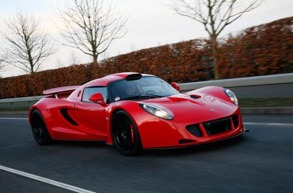En hızlı süper arabalar