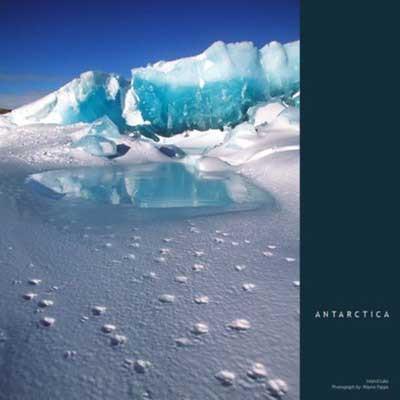 Doğadan muhteşem buz dağı görüntüleri...