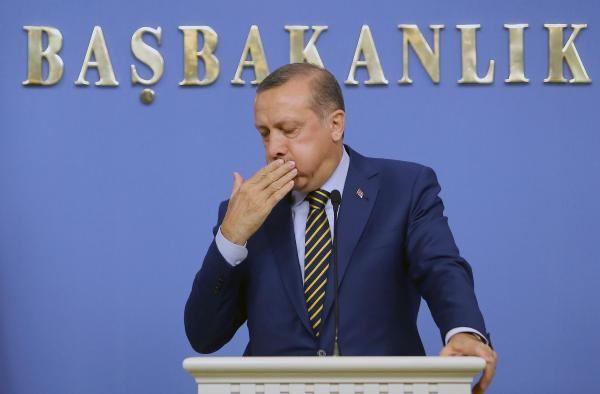 Erdoğanın boğazı kurudu