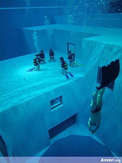 Dünyanın en derin havuzu!