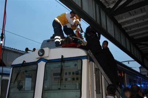 Haydarpaşada turistler elektrik akımına kapıldı