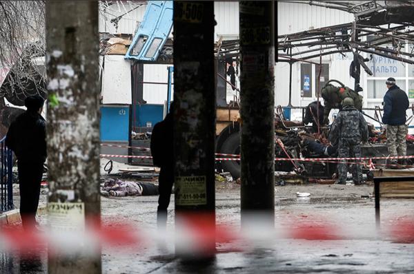 Rusyanın Volgograd şehrinde troleybüse bombalı saldırı