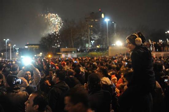 Türkiyede yeni yıl coşkusu