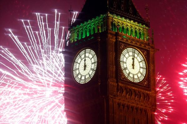 Dünyadan yeni yıl manzaraları