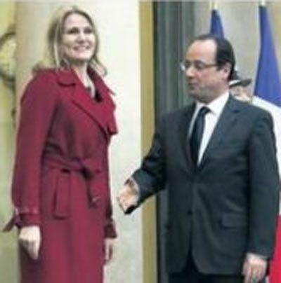 Fransa Başkanı rezil oldu