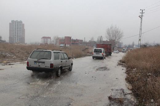 Ankara Metrosunda gölet rötarı