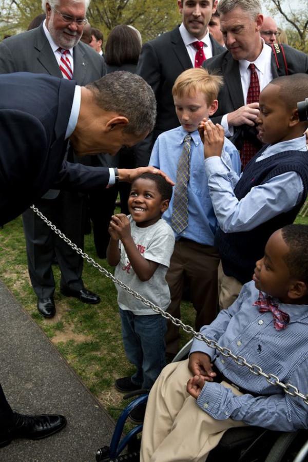 Beyaz Saraydan çok özel kareler
