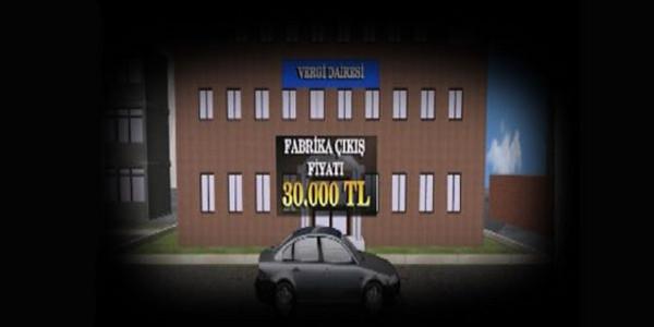 30 bin liralık otomobil nasıl 54 bin lira oluyor?