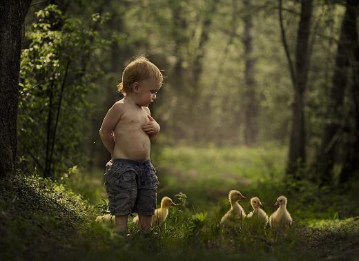 İki kardeşin doğayla olan masalsı ilişkisi
