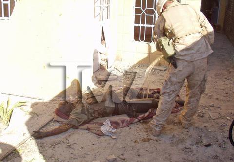 ABD askerleri ceset yaktı iddiası
