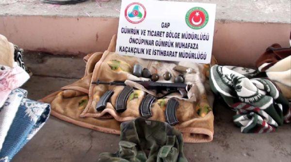 Sınırda el bombaları ele geçirildi!