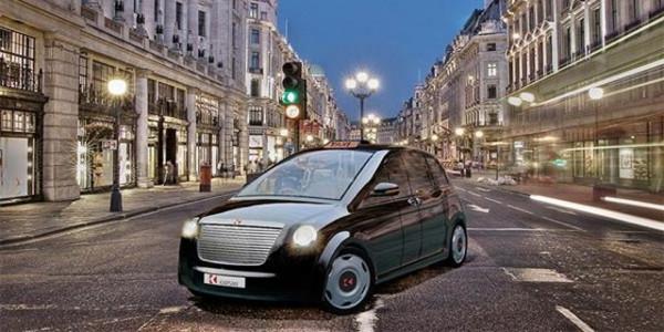 İşte Londranın elektrikli Türk taksisi!