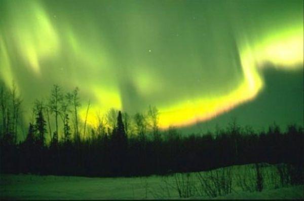 Görsel bir şölen: Kuzey Işıkları