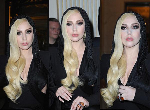 Lady Gaga Pariste kameralara yakalandı!