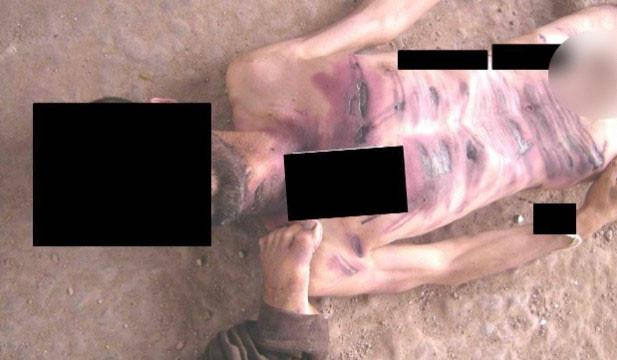 Suriye'den şoke eden işkence fotoğrafları