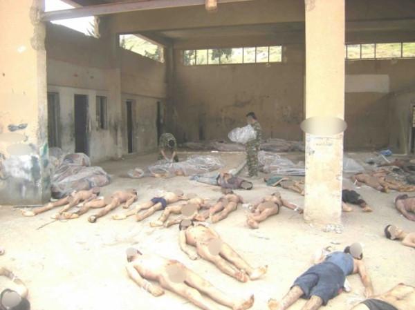 Suriyeden dehşet veren fotoğraflar