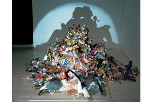 Çöpten heykeller