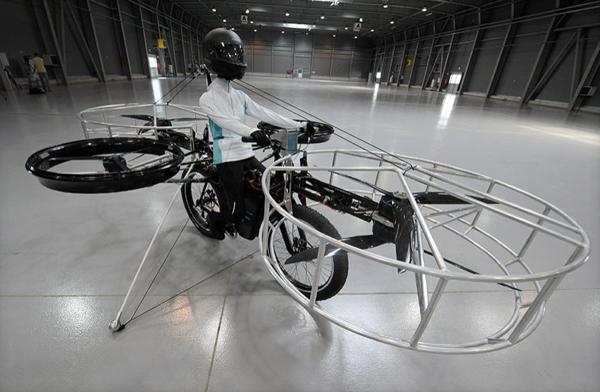 Uçan bisiklet gerçek oluyor