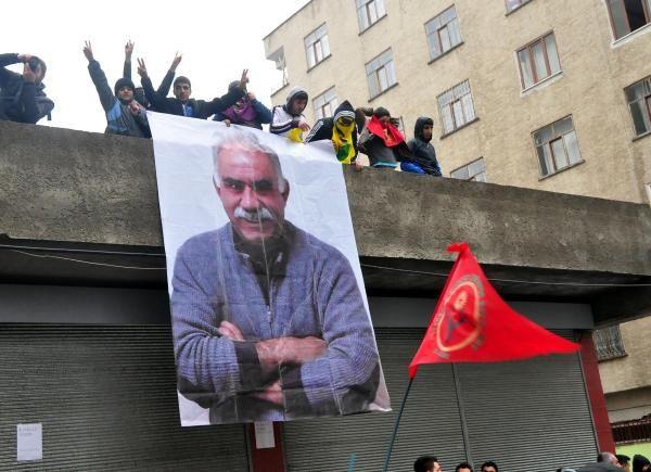 BDP yürüyüşünde Öcalan krizi