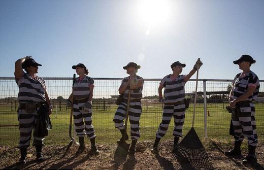 Maricopa County Cezaevinin kadın mahkumları