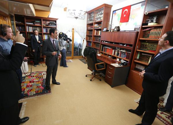 İşte Fethullah Gülenin çalışma ve yatak odası
