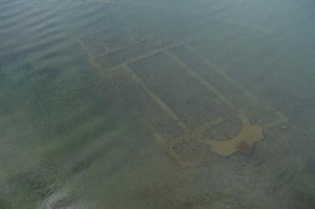 İznik Gölünün altından tarih çıktı