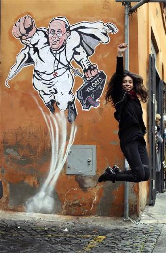 İtalyada Süperpapa efsanesi